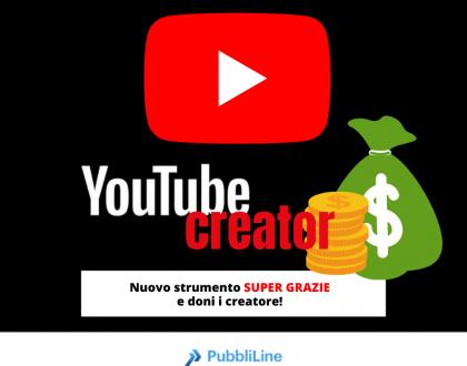 Youtuber attenzione - sta per uscire uno strumento per supportarvi con donazioni di denaro!